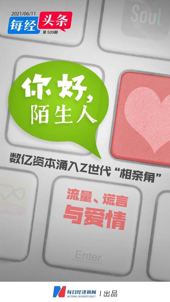 """你好,陌生人!数亿资本涌入Z世代""""相亲角"""":流量、谎言与爱情"""