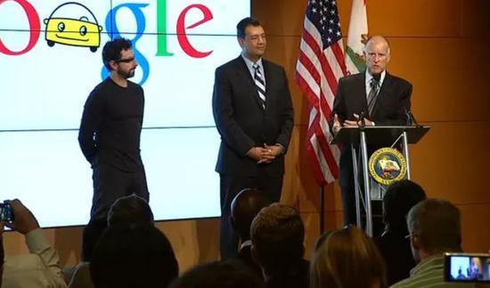 Brin出席加州自动驾驶法案会议
