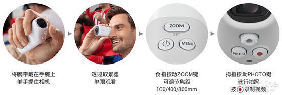 佳能望远相机PowerShot ZOOM: 观看拍摄两不误