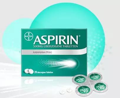 拜耳公司的阿司匹林(來源拜耳官網)