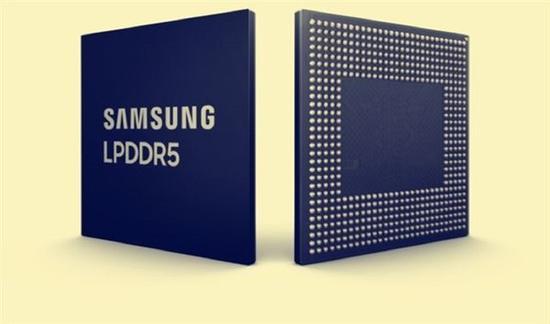 此前三星的DDR5