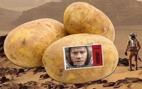 图1 没有马铃薯,就没有《火星救援》