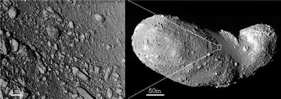 碎石堆结构小行星