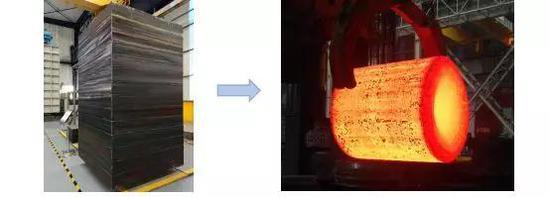 金属构筑成形钢坯 (图片来源:作者提供)