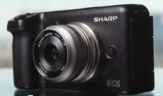 夏普8K相机低于4000美金 预计19年年底出货