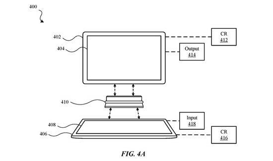 《【摩登2手机客户端登录】苹果申请神秘专利:可将iPad变成笔记本式电脑》