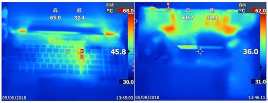 暖和成像检测图