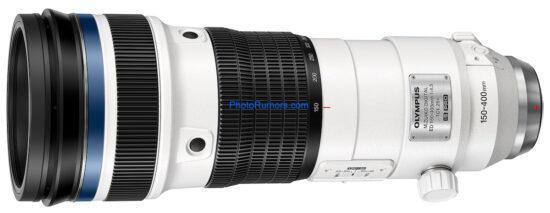 奥林巴斯150-400mm f/4.5 TC1.25x IS PRO售价超5万?
