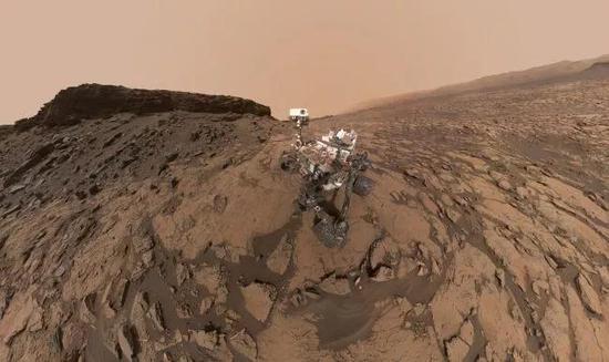 """""""好奇""""号发现火星曾被海洋覆盖的新证据火星海洋证据"""