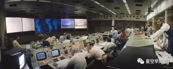 任务期间的地面控制中心来源:NASA