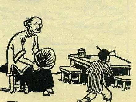 """▲""""一代不如一代。""""——九斤老太"""