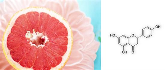 柚子和柚皮素的化学式(来源:pixabay,编辑有加工)