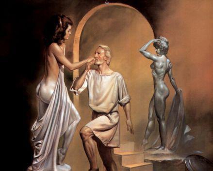 希腊神话《皮格马利翁》