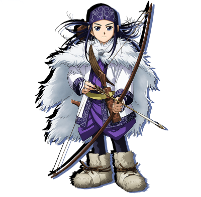 日本漫画《黄金神威》里,阿席莉帕就是一个女猎人