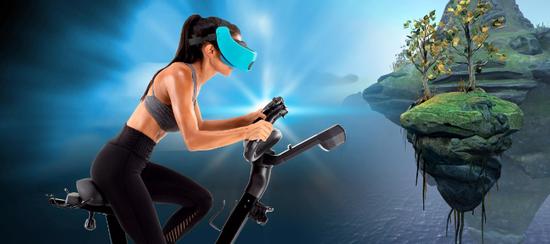 骑行带风感 VR健身自行车了解一下-领骑网
