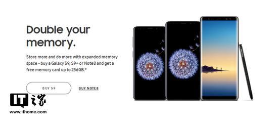 三星海外搞福利:买多大容量的S9/Note8送多大内存卡