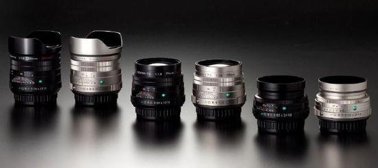 宾得预告将发布三款特别版单反镜头
