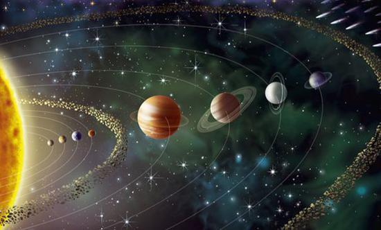 小行星带(想象图)