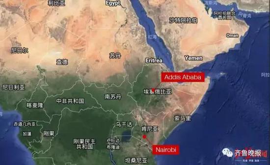 失事飞机的飞行路线。(图据CNN)