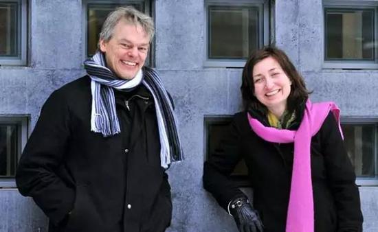 图丨2014 年的诺贝尔生理学或医学奖得主梅·布莱特·莫索尔和爱德华·莫索尔夫妇
