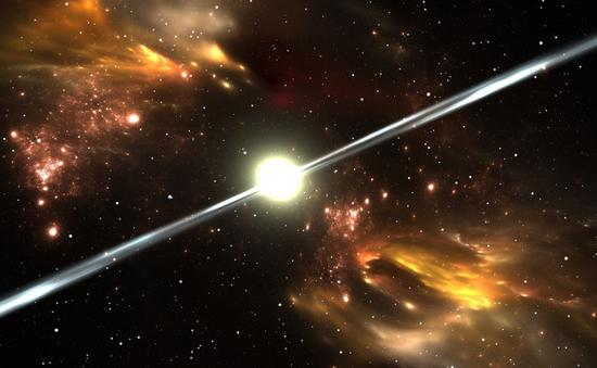这颗中子星疯狂旋转的同时竟会迸发伽马射线!中子星脉冲星