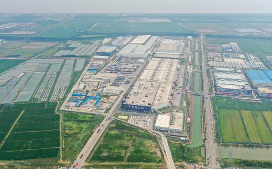 特斯拉上海二期工程主体结构完成 明年一季度可量产Model Y