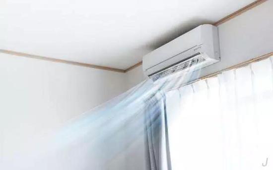 在办公室里工作的时候,空调更是必不可少的。