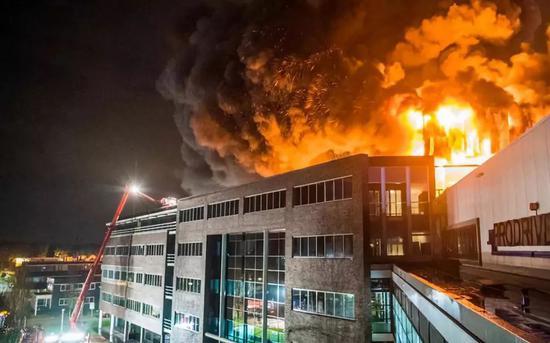 Prodrive工廠大火
