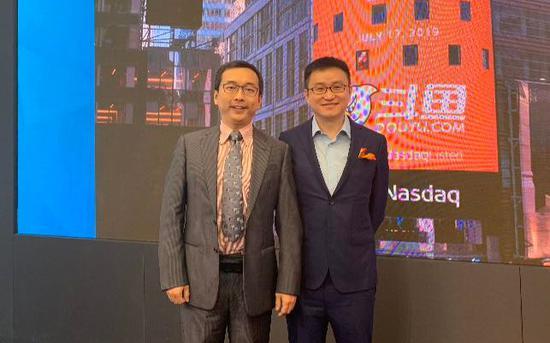 南山资本创始合伙人何佳和斗鱼创始人、CEO 陈少杰