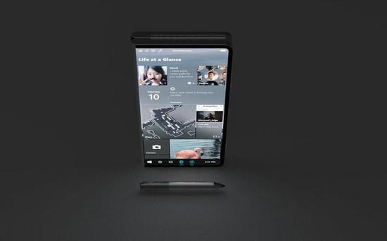微软折叠屏Surface采用Win Core系统 界面长这样!