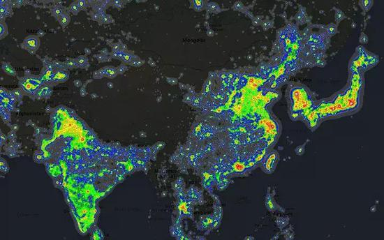 图片来自brilliantmaps.com