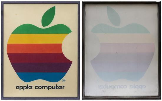 复古苹果零售标志牌将被拍卖 起拍价1.2万美元
