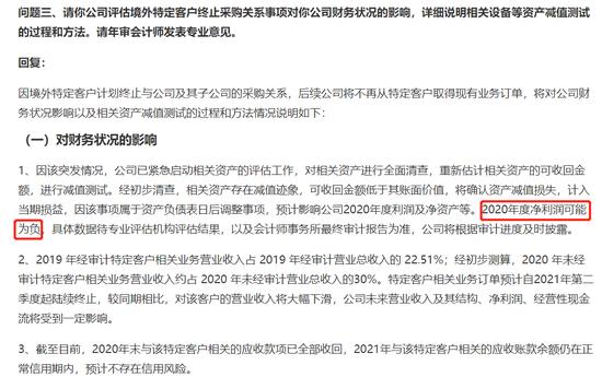 欧菲光关于深圳证券交易所关注函回复,图源公司公告