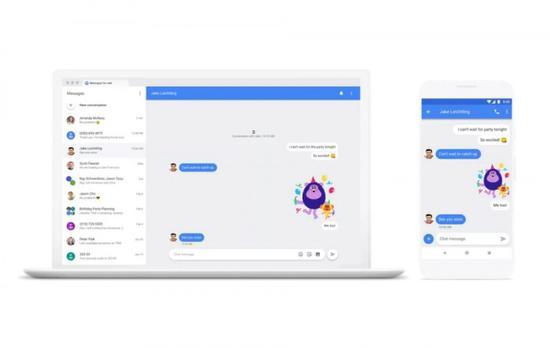 如何对抗iMessage?谷歌计划推动行业通讯标准Chat