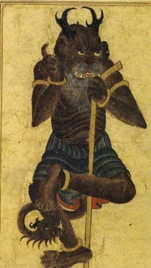"""《古兰经》中记载镇尼是一种与人类并存而不为人所见之物。在古代阿拉伯传说中,它是一种像人类一样有生命、理智、能思维而不显露形迹之物,活跃于人迹罕至的荒野。还有人认为镇尼系指古怪的异族人或异邦人,近似所谓""""天外人""""和""""外星人""""之类的揣测。图源:Islam and Science Fiction"""