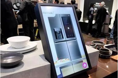 LG InstaView ThinQ智能冰箱将亮相AWE 2018