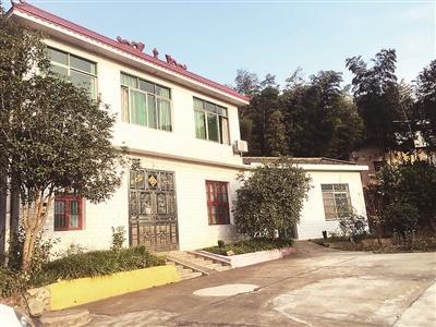吴永宁在湖南宁乡市南芬塘村的老家。 本文图片 北京青年报