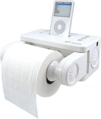 厕所专用iPod dock