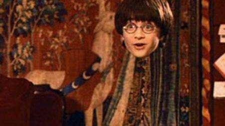 哈利波特的隱身斗篷