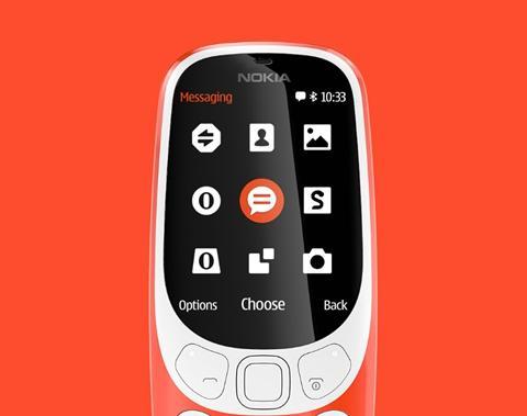诺基亚3310销量达千万台:功能机市场一霸