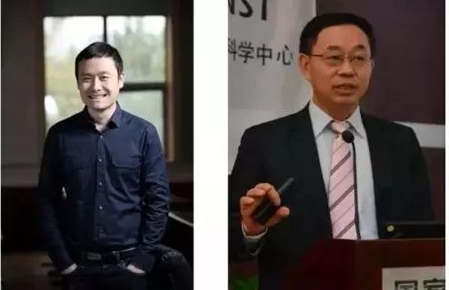 图 丁宝全研究员与中科院院士赵宇亮