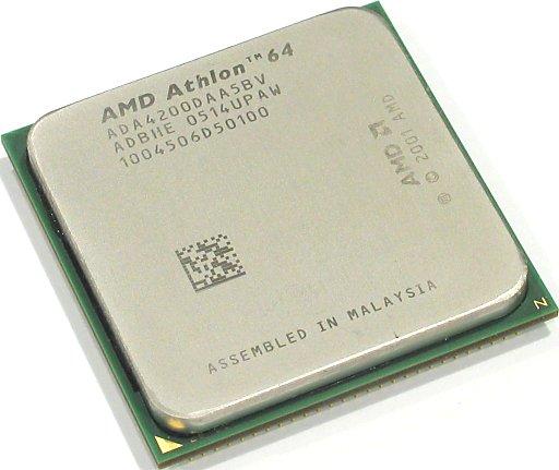 旧款AM2接口的AMD速龙X2 4200 CPU