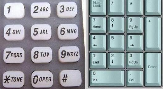 9 为什么电话和电脑键盘的顺序是相反的?兽虐狂暴
