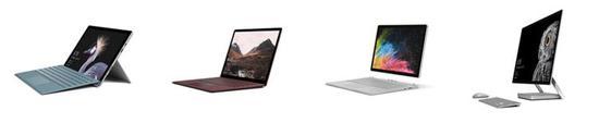 Surface 系列硬件