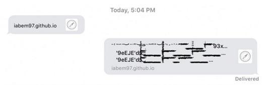 这条奇怪短信让iPhone瞬间死机 苹果愤怒要解决