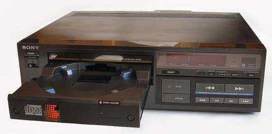 索尼CDP-101,最早的CD播放机
