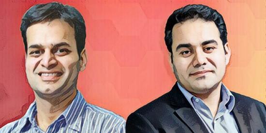 Snapdeal创始人RohitBansal和Kunal Bahl