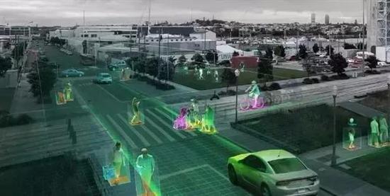 英伟达支持的人工智能系统,能够利用城市里超过十亿个摄像头来帮助管理交通拥堵。图片来源于网络