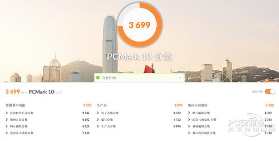 PCMark 10基准测试