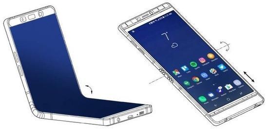 三星折叠手机2019年发布 最新专利又曝光